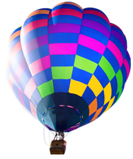 Colourful Balloon Representing Our Colour Printing Services