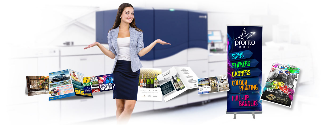 Pronto Direct Commercial Printing Services