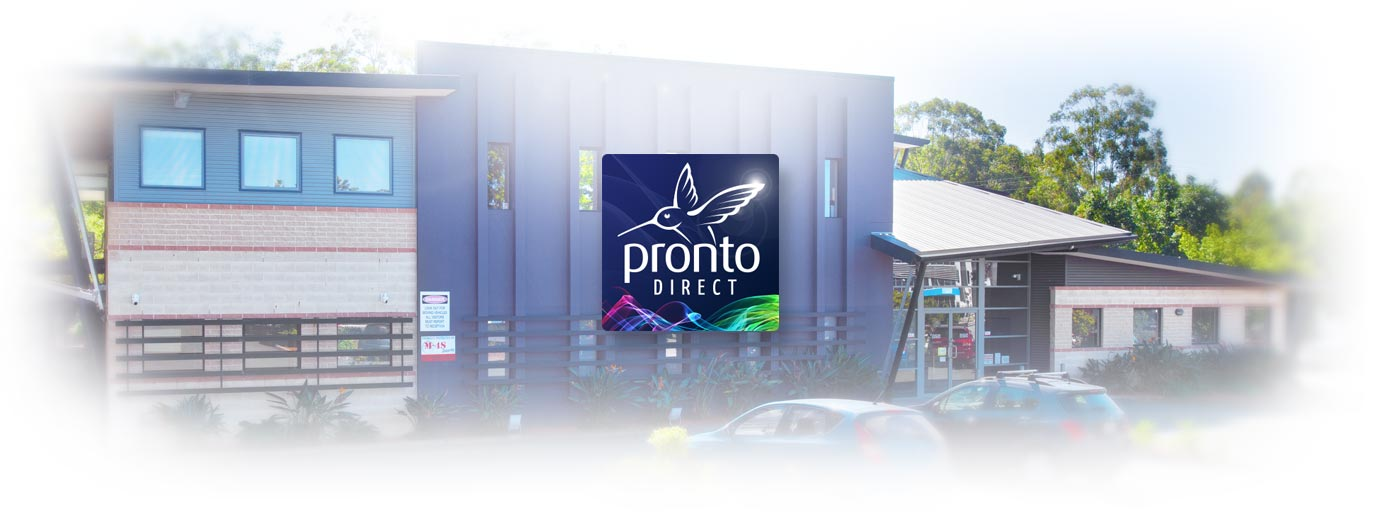 Exterior of Pronto Direct's Head Office