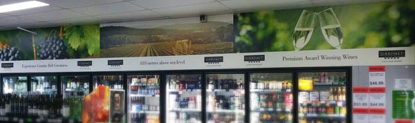 Liquor Store Signage Printed by Pronto Direct