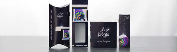 Pronto Direct's Product Packaging